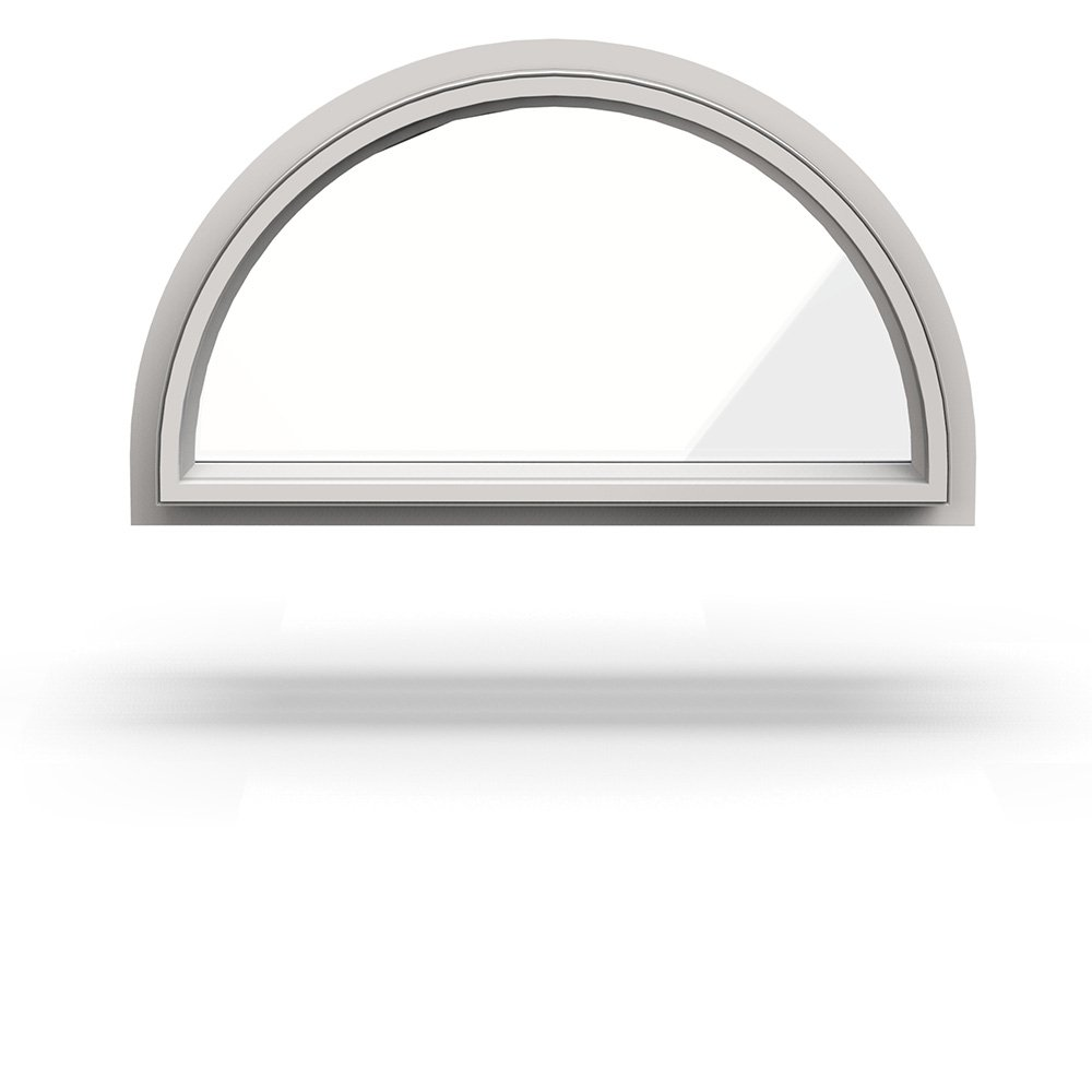 Premium Vinyl Specialty Shape Windows - Replacement & New